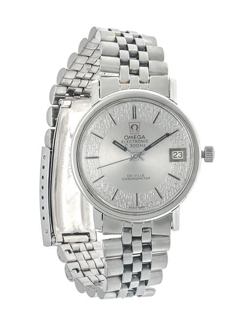 bae21a1eef79 Reloj Omega para caballero modelo Electronic. – Nacional Monte de Piedad