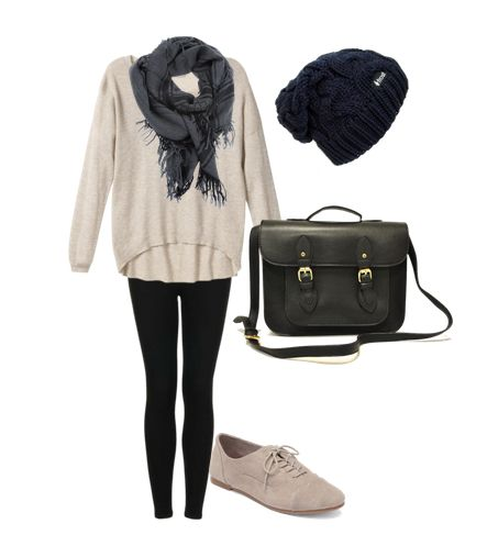 Comfy/lazy day outfit minus the shoes