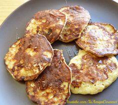 Pancakes  (Panqueques) de Banana (Plátano) sin harina: Deliciosos Pancakes de Banana, sin harina, sólo se necesitan 3 ingredientes. Fáciles de hacer y muy ricos. Pincha en la imagen para ir a la receta.  Recuerda darle un me gusta a nuestra página de Facebook  https://www.facebook.com/tuamigagourmet