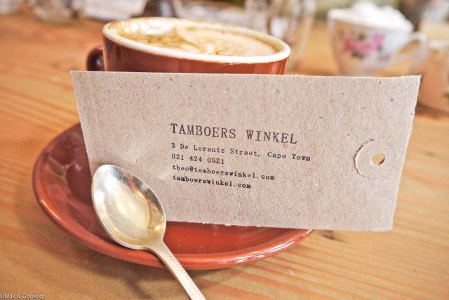 EAT: Tamboers Winkel Cape Town | Milk & Cookies