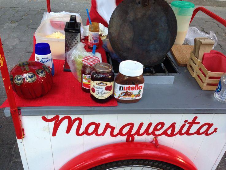 Ingredientes para preparar marquesitas