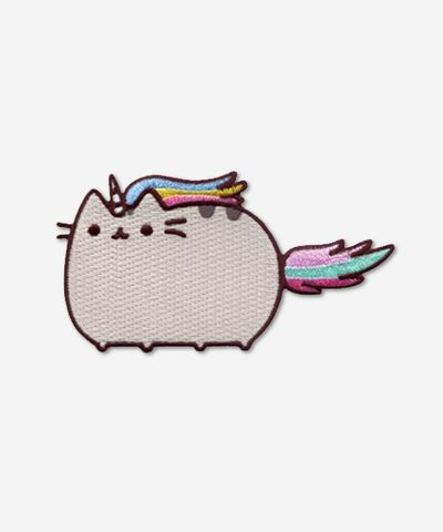 Pusheenicorn iron on patch - Hey Chickadee