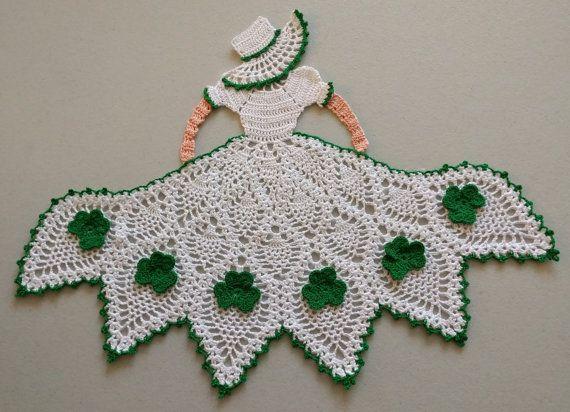 St. Patrick's Crinoline / Southern Belle Girl by LoneStarLace2