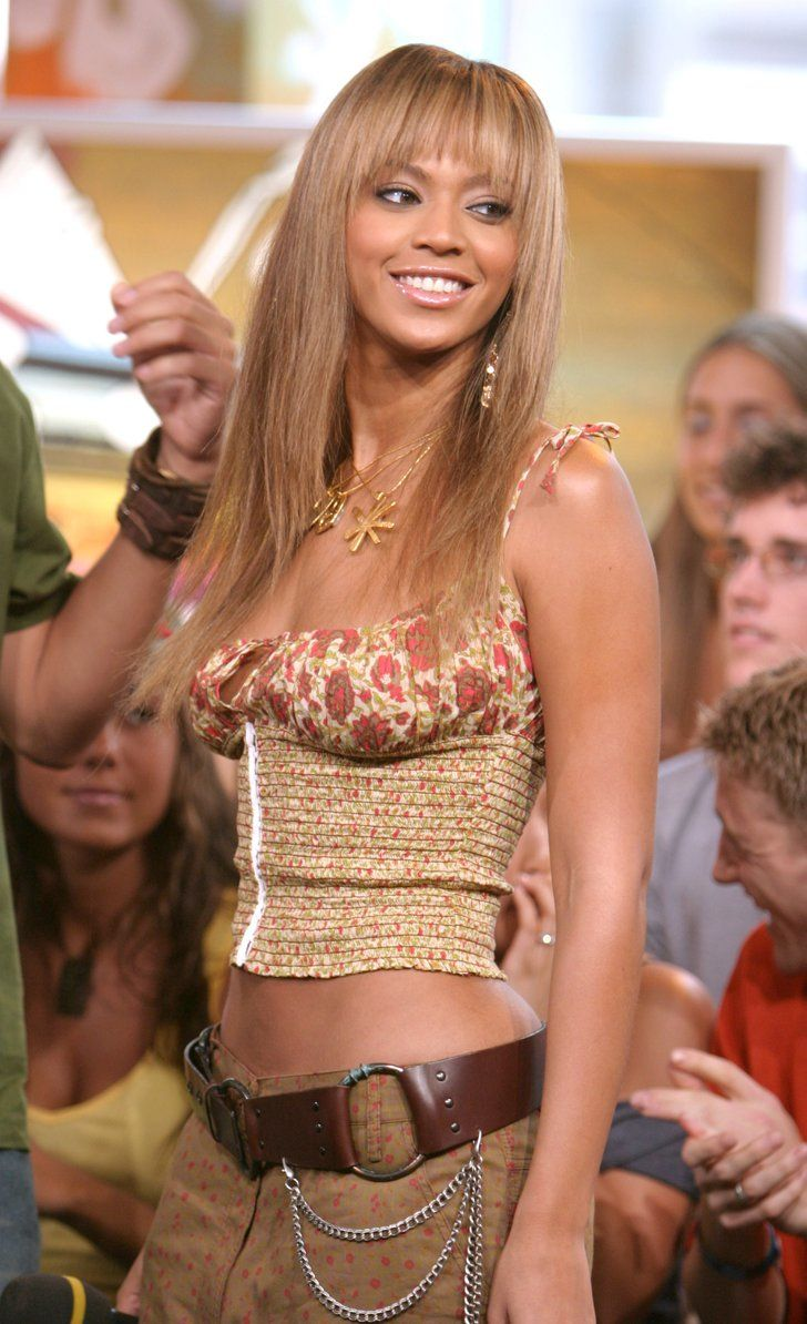 Pin for Later: The Ultimate TRL Time Machine  Beyoncé Knowles visited TRL for an appearance in 2003.