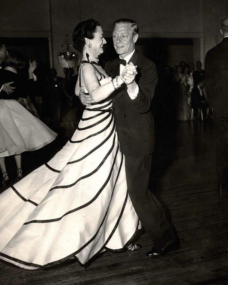 B gown  Duke and Duchess of Windsor