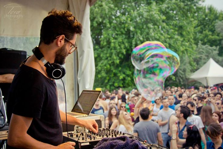 Piknic Electronik - great idea for fun Sundays in Montreal © 2015 Tora Chirila Photography. All rights reserved. - www.tora.photography