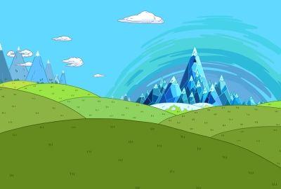山と丘のイラストの壁紙 | 壁紙キングダム PC・デスクトップ版