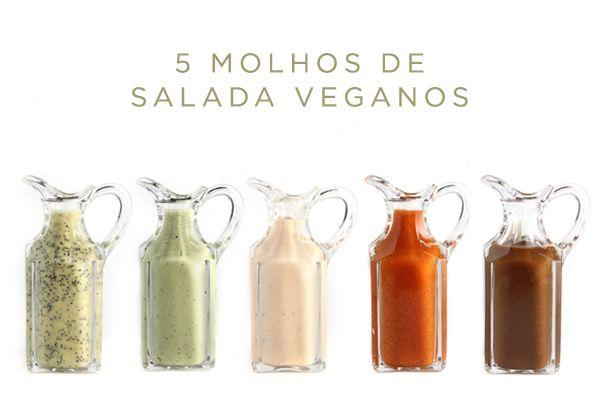 5 receitas de molho de salada vegano                                                                                                                                                      Mais                                                                                                                                                                                 Mais