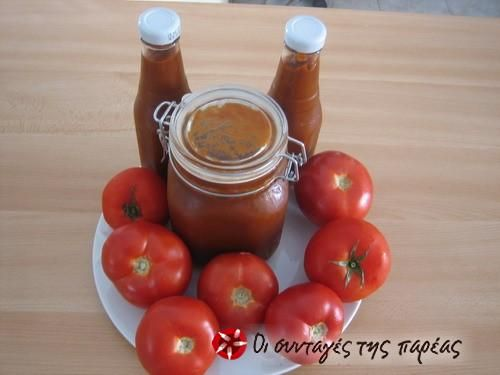 Κέτσαπ σπιτική #sintagespareas #ketchup