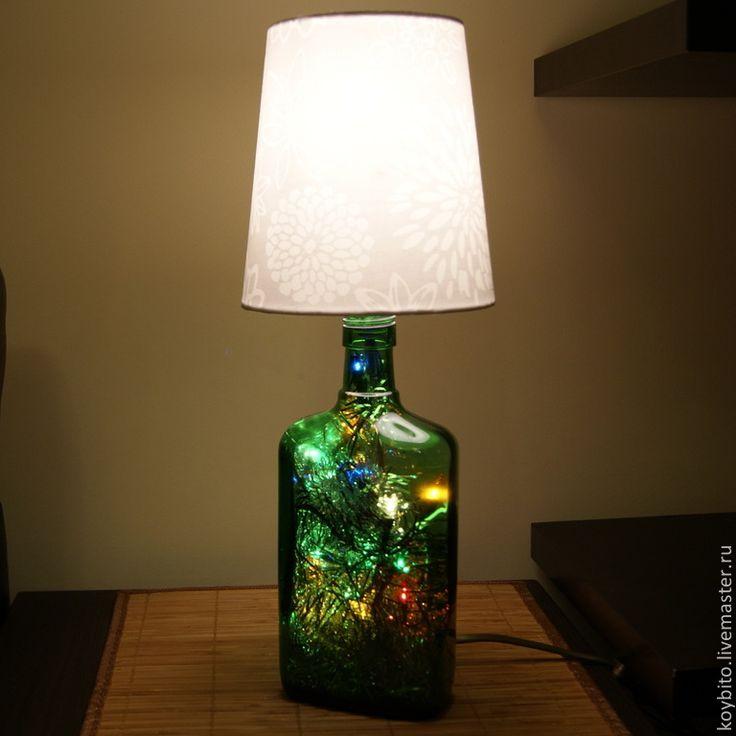 Купить Светильник новогодний - лампа, светильник, подарок, подарок на новый год, Новый Год, интерьер