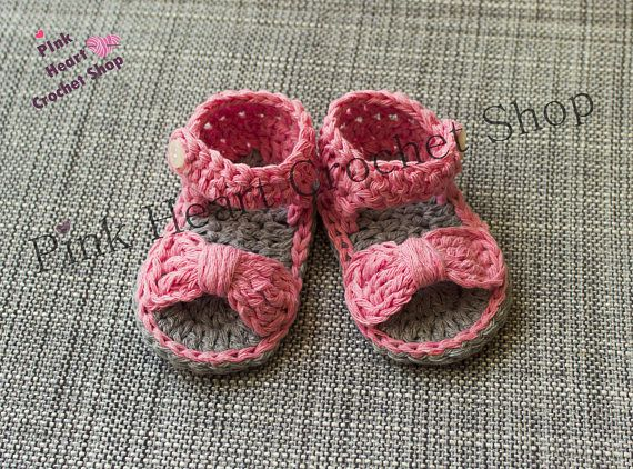 Crochet baby sandalscrochet baby girl sandalscrochet baby