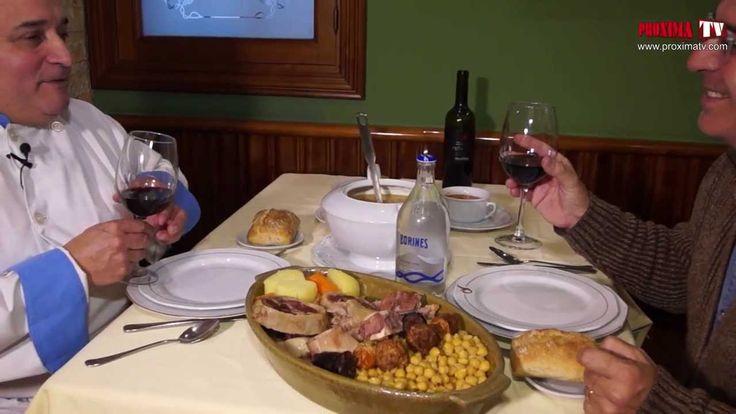 Plato estrella. Restaurante Cruz Blanca, Vallecas.