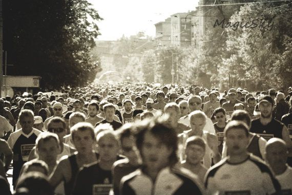 Maraton photo sport photography old look photography by MagicSky, Kč400.00