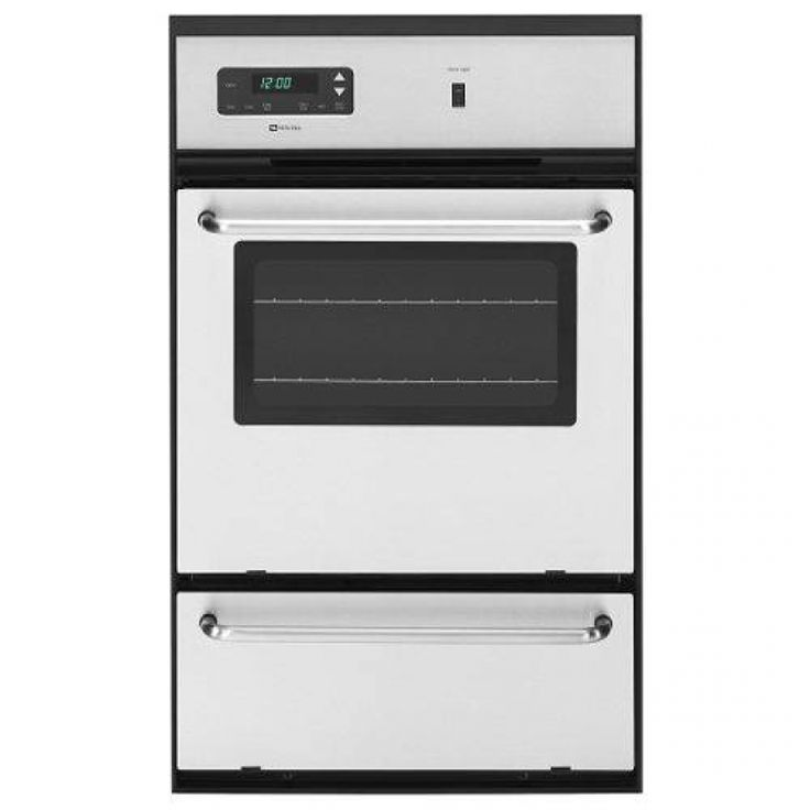 Maytag CWG3100AA 24 Gas Individual Wall Oven with Standard Clean and ...
