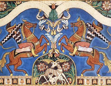 Magyar himnusz: A csodaszarvas vadászata (kép)