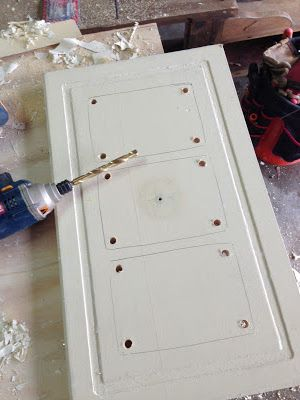 How to make picture frames from old cabinet doors!