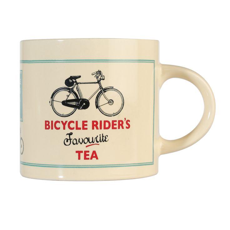 Bicycle Rider's Favourite Tea Mug   DotComGiftShop