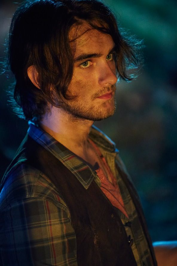 Even though he's all dirty Landon Liboiron still manages to look sexy