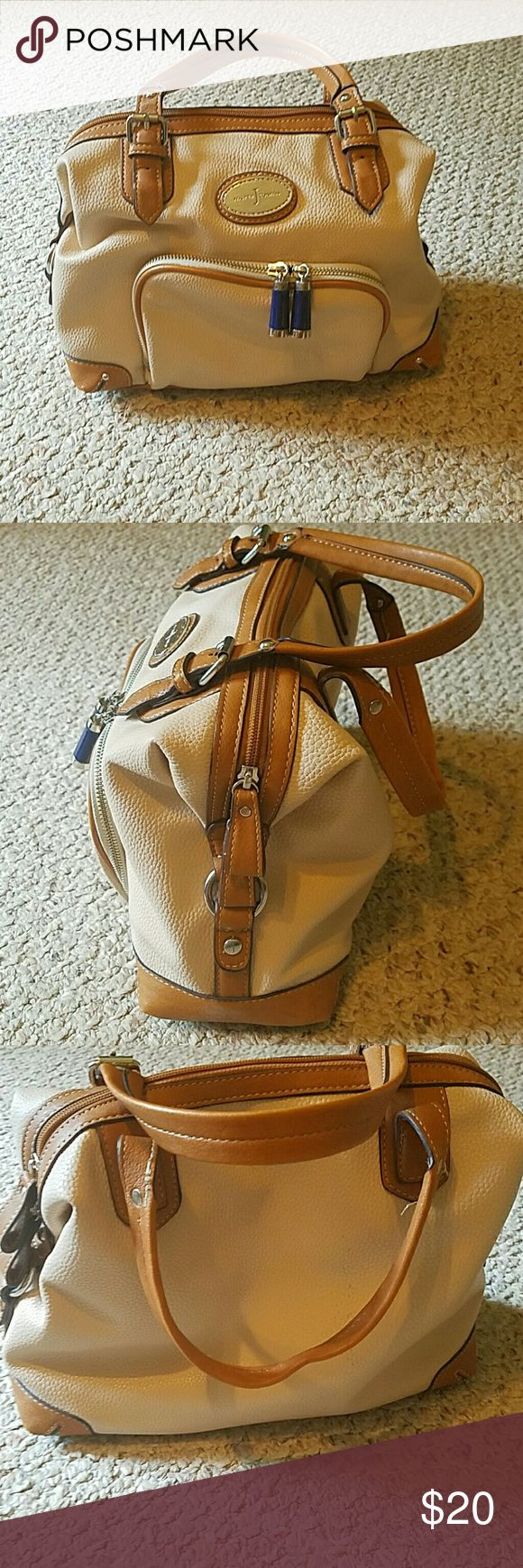Small size Handbag Barely used, front zip pocket, inside zip pocket, leather Jasper Conran (for Debenham's) Bags Mini Bags
