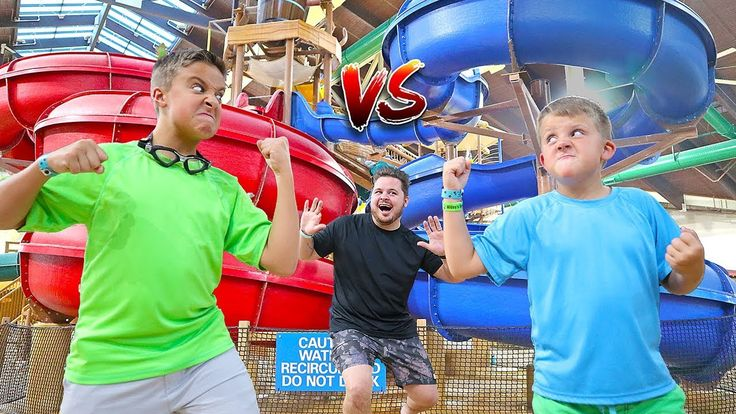 Giant Slide in Indoor Waterpark! Adventure at Great Wolf Lodge with Daily Bumps! - YouTube