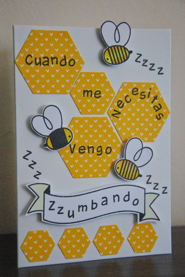 Sellos abejas de Paper Smooches. Sello abecedario de Lawn Fawn.