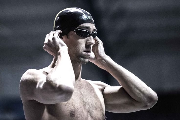Michael Phelps in the fnals of the 100 free at the Arena Pro Swim Series in Orlando (photo: Mike Lewis)