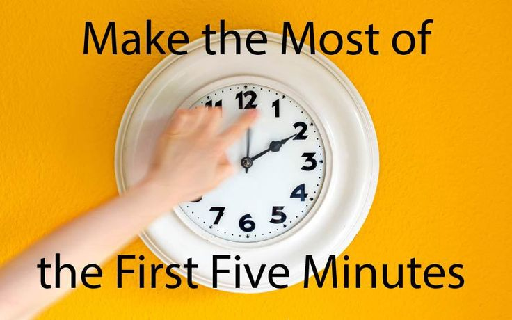 Interview - The crucial first 5 minutes