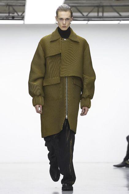 Sean Suen Menswear Fall Winter 2016 London