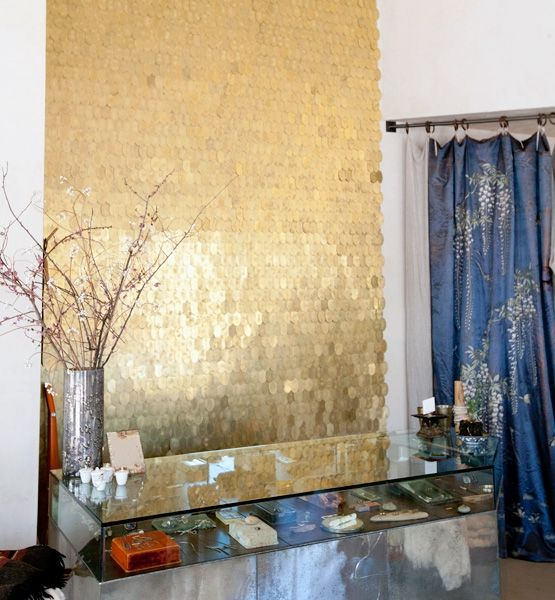 Aerin Gold Home Decor Inspiration: 1000+ Ideas About Sequin Wall On Pinterest