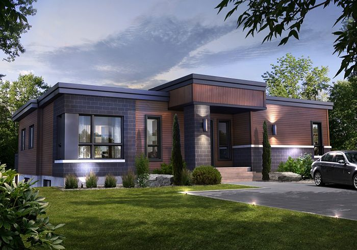 Modern Bungalow | Modern Architecture | Pinterest | Bungalow, Modern And  House