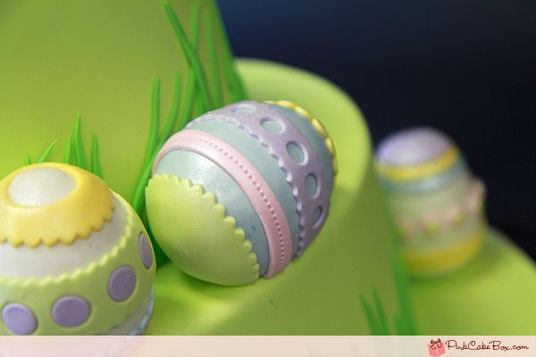 Easter Egg Cake – Happy Easter! - By Pink Cake Box Wedding Cakes & more