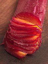 Scratch Recipe: Beetroot Cured Salmon Gravlax