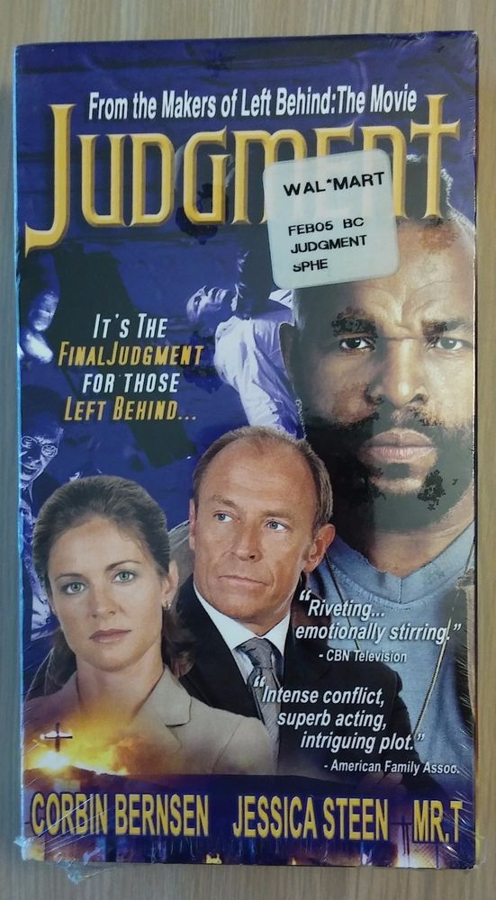 NEW vhs Movie JUDGEMENT Mr. T Corbin Bernsen Jessica Steen Indie film/Drama 2001