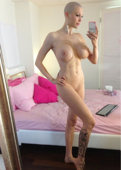 Girl bald head wig porn-6956