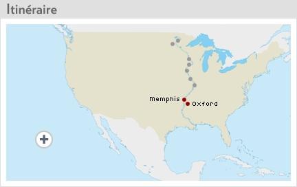 Reportages - Oxford | À la veille des élections américaines, Isabelle Audet parcourra la vallée du Mississippi, à la rencontre des Américains. | LaPresse.ca