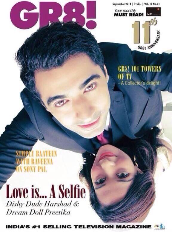 Harshika magazine GR8! Photoshoot