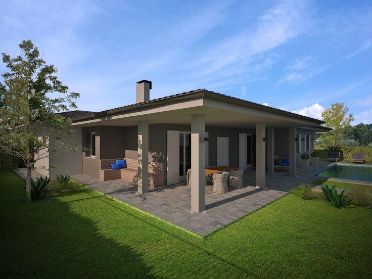 Oltre 25 fantastiche idee su case a un piano su pinterest for Piani di casa in stile ranch con cantina