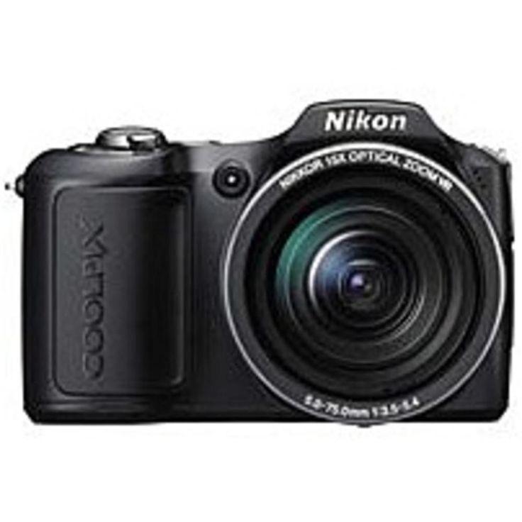 Nikon Coolpix L100 10 Megapixles Compact Digital Camera - 15x Optical Zoom - SD, SDHC Memory Card