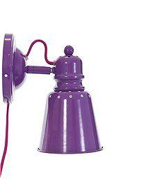 Bunte Wandlampen Wandlampe aus Metall in zwei bunten Farben lieferbar, von sebra. Leuchtmittel nicht im Lieferumfang.