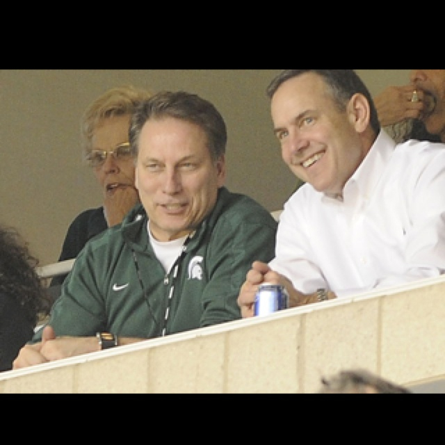 Tom Izzo and Mark Dantonio = best college coaches ever!