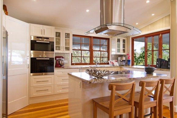 Beautifully Restored Queensland Home Kitchen After Styling