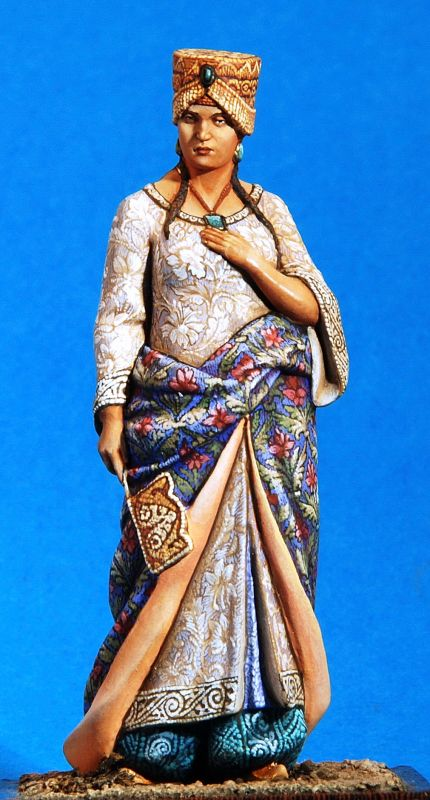 Арабская принцесса - 12-13 вв  ММС