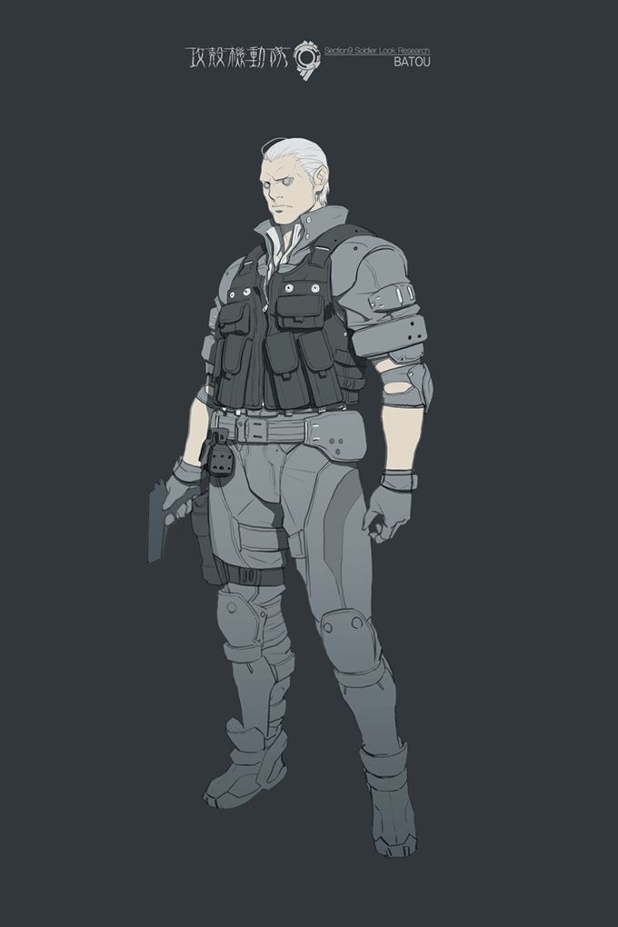 Ghost In The Shell Ghost In The Shell Illustration Character Design Character Design