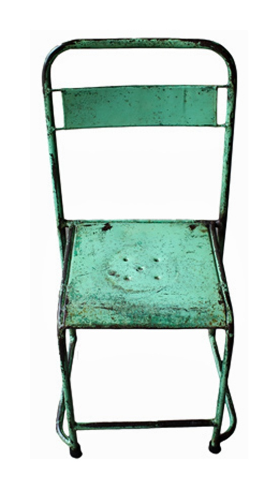 Vintage Steel Chairs from www.whitecoconut.com.au #furniture #vintage #chairs #homewares