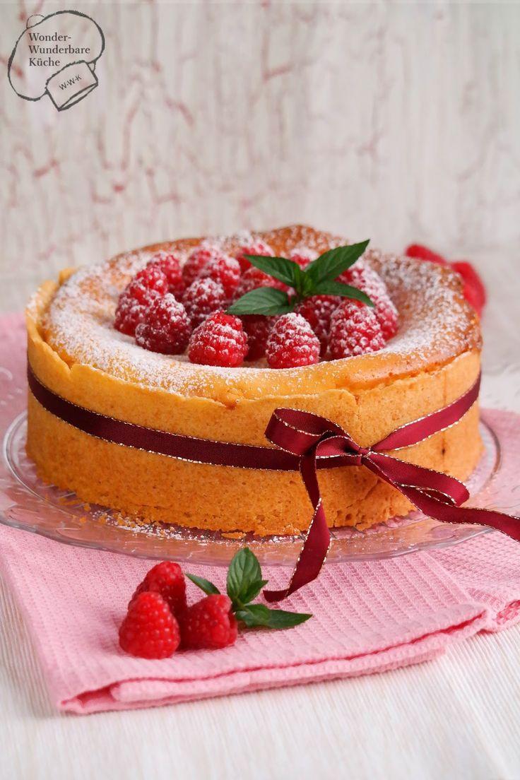Kleine Kuchen klassischer Käsekuchen Kleiner kuchen