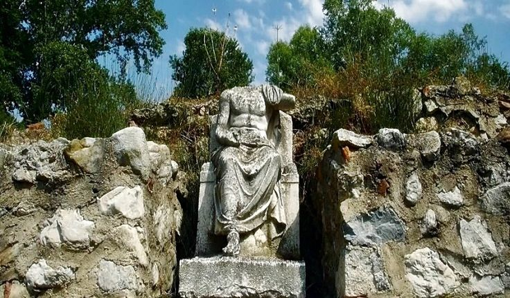Zeus Hypsistos Dion,Macedonia,Greece