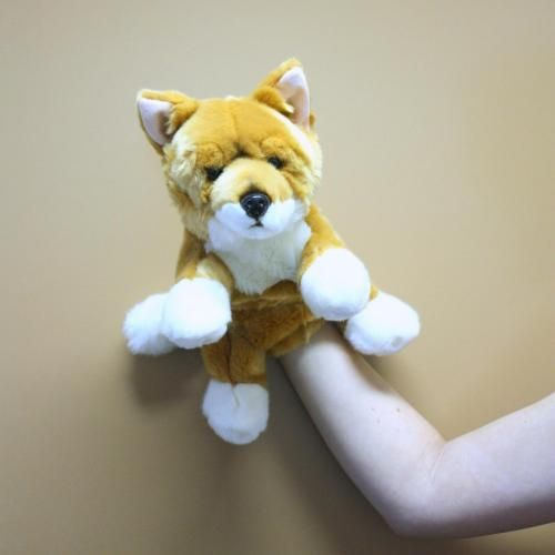 Dingo hand puppet  Beautiful hand puppet made from soft quality plush materials.  A wonderful companion for any child and  great tool for imaginative play.  Those of us with an inner child can also get so much from a puppet such as this!  Click on the pic to buy!