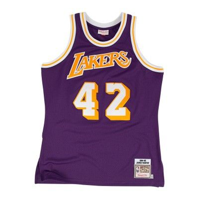 ... Wilt Chamberlain 1971-72 Authentic Jersey Los Angeles Lakers - Shop Mitchell  Ness NBA ... f09392a7c