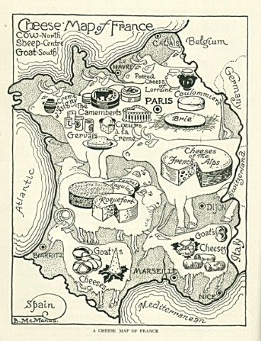 Blanche McManus. American Cookery NOVEMBER, 1917: The Pedigreed Cheeses of France.