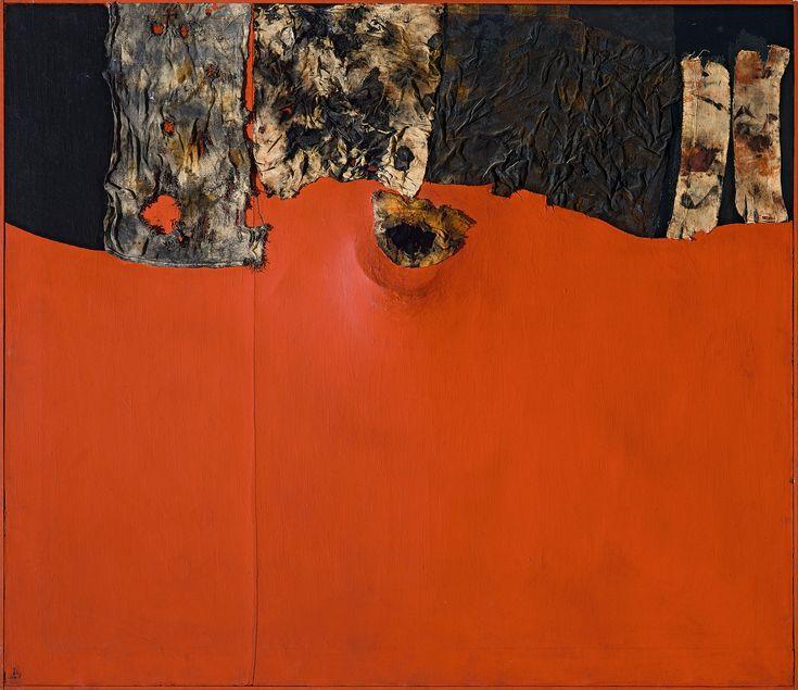 Explore the work of pioneering Italian artist Alberto Burri on view at the Guggenheim through January 6: http://gu.gg/Rt4uR